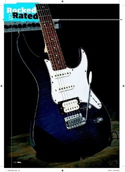 Total Guitar Yamaha Pacifica 212 VFM