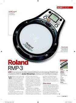 Rhythm Roland RMP3