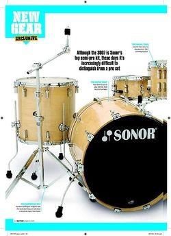 Rhythm SONOR FORCE 3007 ROCK KIT