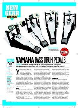 Rhythm YAMAHABASSDRUMPEDALS