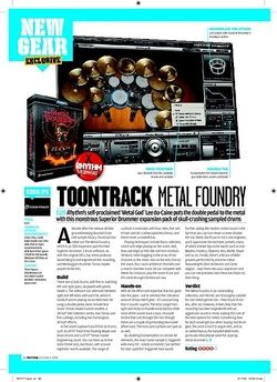 Rhythm TOONTRACK METAL FOUNDRY