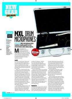 Rhythm MXL DRUM MICROPHONES