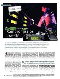 Soundcheck Test: Shure PSM 900 Wireless In Ear System - Kompromisslos drahtlos!