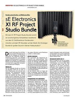 KEYS sE Electronics X1 RF Project Studio Bundle
