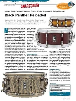 DrumHeads Black Panther Reloaded