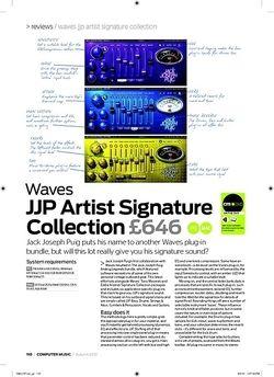 Computer Music Waves JJP Artist Signature Collection