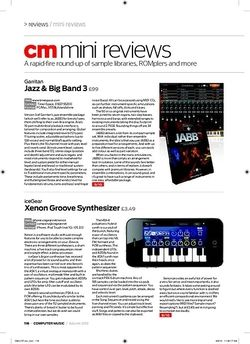 Computer Music Garritan Jazz and Big Band 3
