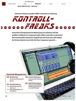 KEYS Special: MIDI-Controller