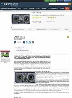 Audiofanzine.com ADAM S3X-H