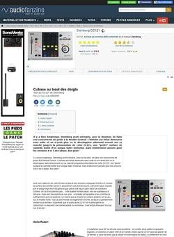 Audiofanzine.com Steinberg CC121
