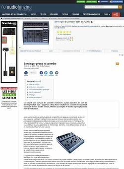 Audiofanzine.com Behringer BCF 2000