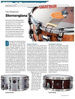 DrumHeads Instrumente & Technik - Test: Tama Starphonic