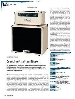 Guitar gear Amp - Ibanez TSA15H & TSA112C