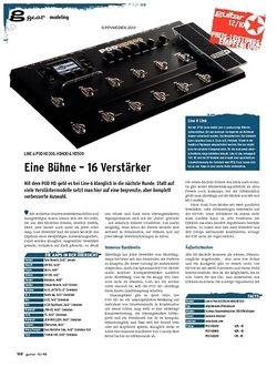 Guitar gear Modeling - Line 6 POD HD300,  HD400 & HD500