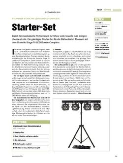 Tastenwelt Test: Stairville Stage Tri Led Bundle Complete - Starter-Set