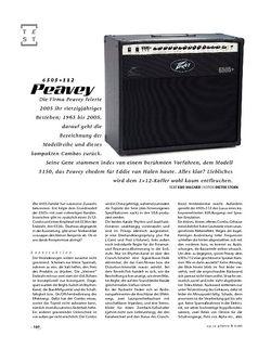 Gitarre & Bass Peavey 6505+ 112