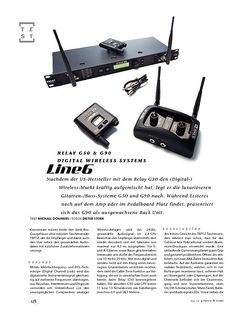 Gitarre & Bass Line6 Relay G50 & G90, Digital Wireless Systems