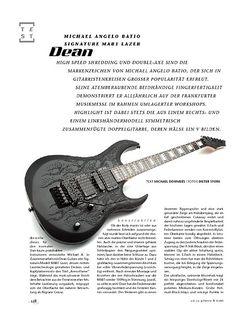 Gitarre & Bass Dean Michael Angelo Batio Signature MAB1 Lazer, E-Gitarre
