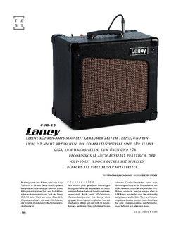 Gitarre & Bass Laney Cub-10, Tube-Combo