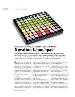 Sound & Recording Novation Launchpad