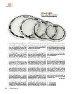Sticks Evans EC2 Sound Shaping Technology Felle
