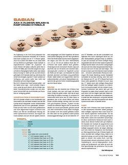 Sticks Sabian AAX X-Plosion Fast Crash & Splash Cymbals