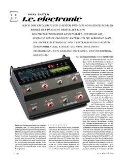 Gitarre & Bass t.c.electronic Nova System