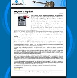 MusicRadar.com Strymon El Capistan