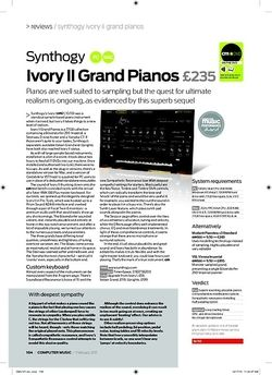 Computer Music Synthogy Ivory II Grand Pianos
