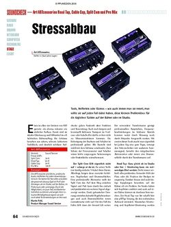 Soundcheck Test: Art ARTcessoires Head Tap, Cable Cop, Split Com und Pro Mix
