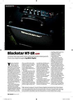 Guitarist Blackstar HT-1R