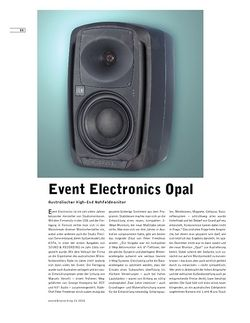 Sound & Recording Event Electronics Opal