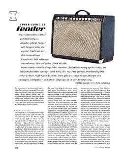 Gitarre & Bass Fender Super-Sonic 22, Tube-Amp