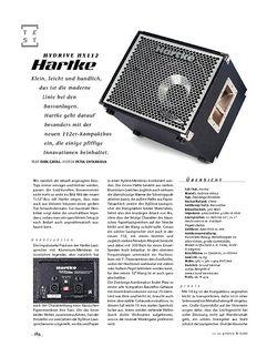 Gitarre & Bass Hartke Hydrive 112 Box