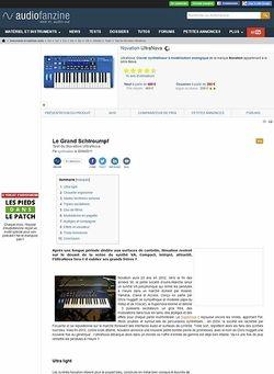 Audiofanzine.com Novation UltraNova
