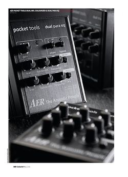 Guitarist AER Pocket Tools Dual Mix