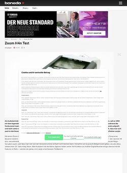 Bonedo.de Zoom H4n