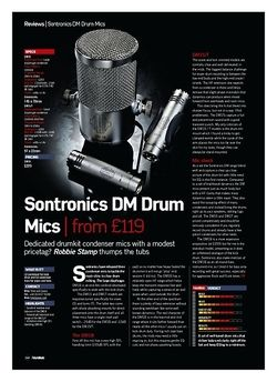 Future Music Sontronics DM Drum Mics