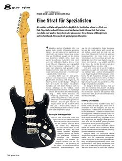 Guitar gear E-Gitarre - Fender David Gilmour Stratocaster Relic