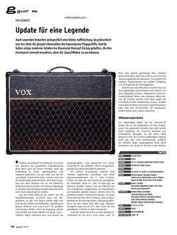Guitar gear Amp - Vox AC30C2X