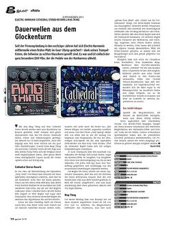 Guitar gear Effekte - Electro Harmonix Cathedral Stereo Reverb & Ring T