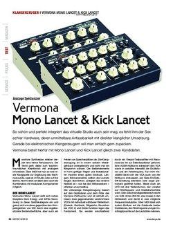 KEYS Vermona Mono Lancet & Kick Lancet
