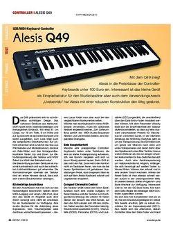 KEYS Alesis Q49