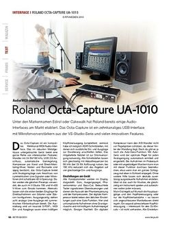 KEYS Roland Octa-Capture UA-1010