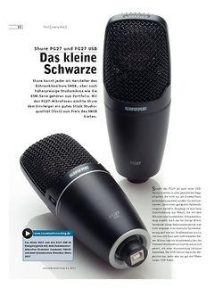 Sound & Recording Shure PG27 und PG27 USB