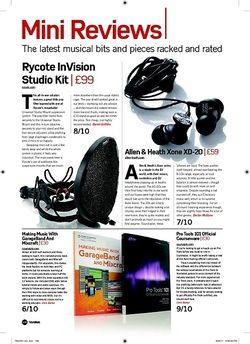 Future Music Rycote InVision Studio Kit