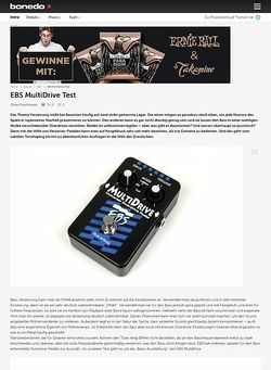 Bonedo.de EBS MultiDrive