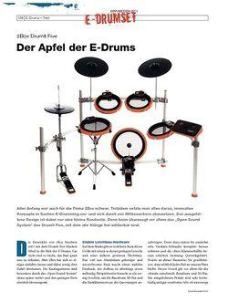 DrumHeads Instrumente & Technik - Test: 2Box DrumIt Five