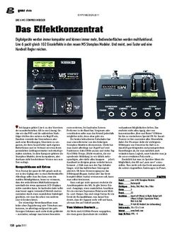 guitar gear Effekte - Line 6 M5 Stompbox Modeler