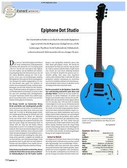 Guitar Test: Epiphone Dot Studio